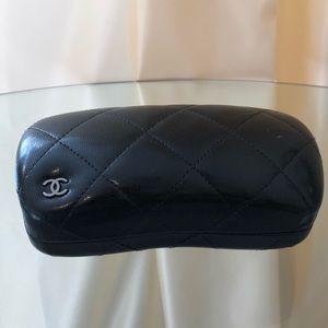 CHANEL Leather Sunglasses Case